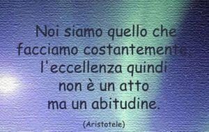 abitudini aristotele